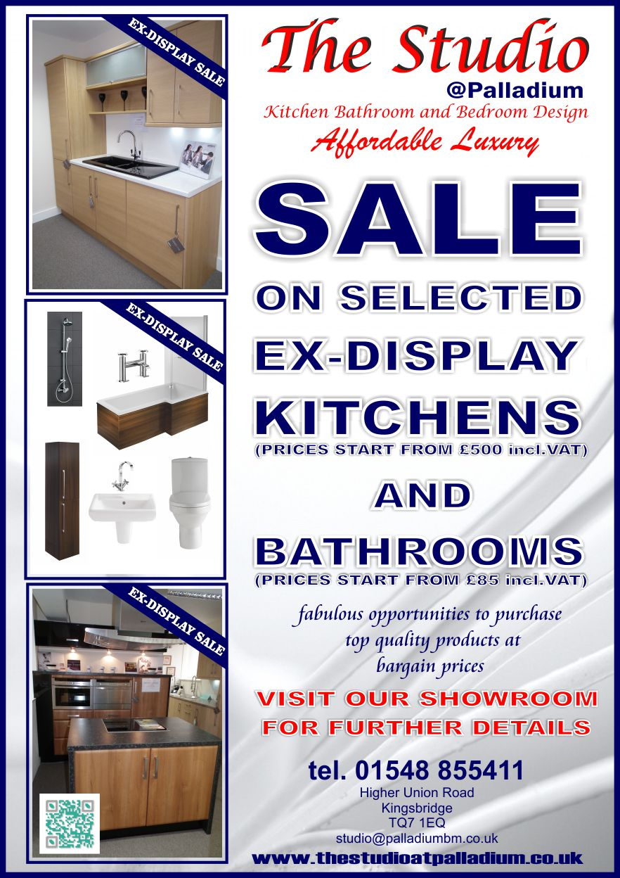 Sale on Selected Ex-Display Kitchens and Bathrooms ...
