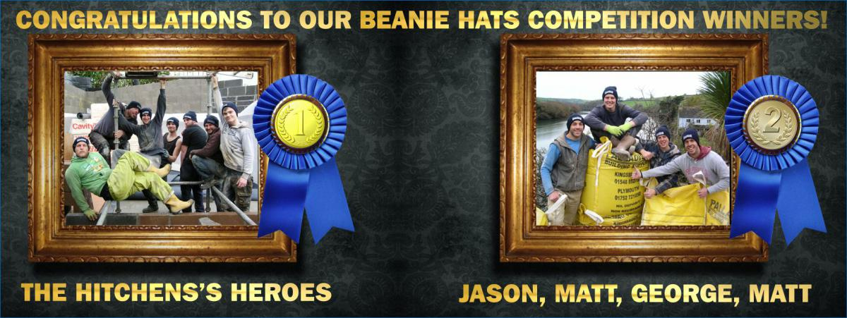 Palladium Beanie Hats Competition Winners!