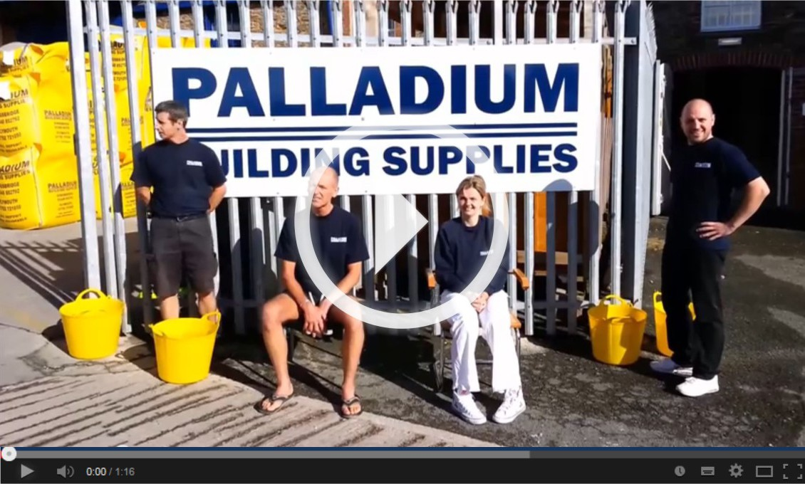 Keith Olver and Karina Tyszkiewicz Ice Bucket Challenge Palladium Kingsbridge