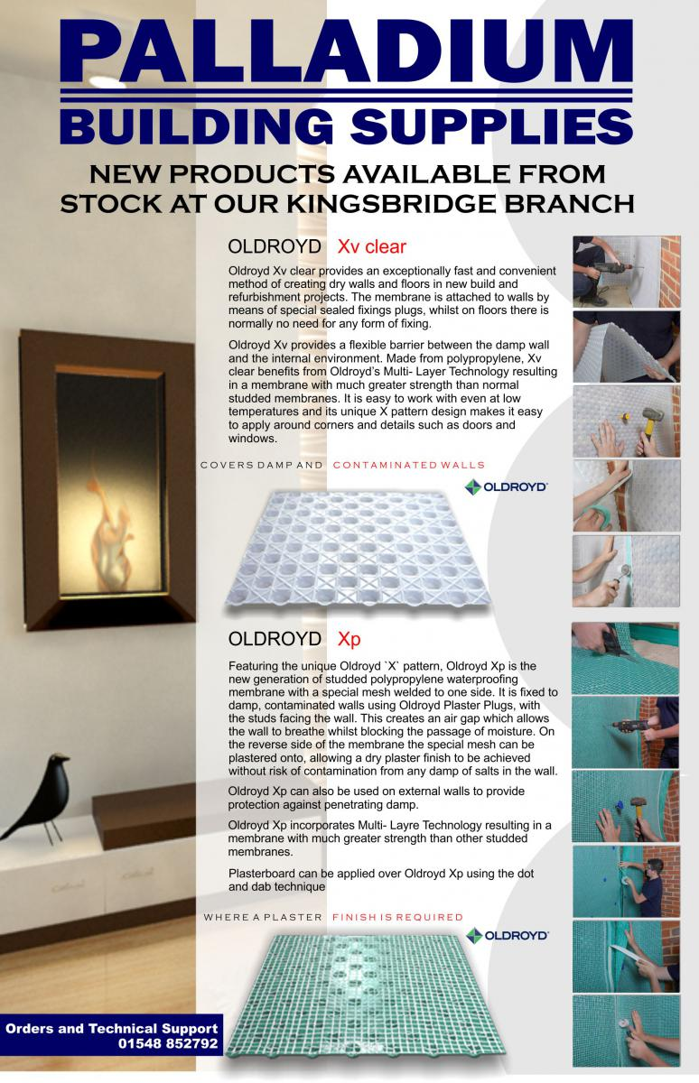 Oldroyd available from stock at our Kingsbridge Branch!