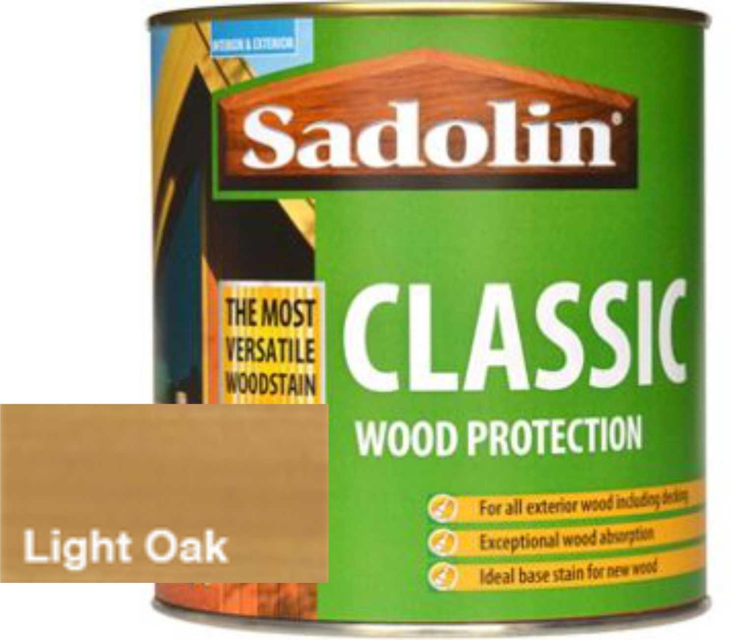 Sadolin Classic Woodstain Light Oak 1l Palladium Building Supplies